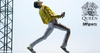 Action Figure S.H. Figuarts Queen Freddie Mercury