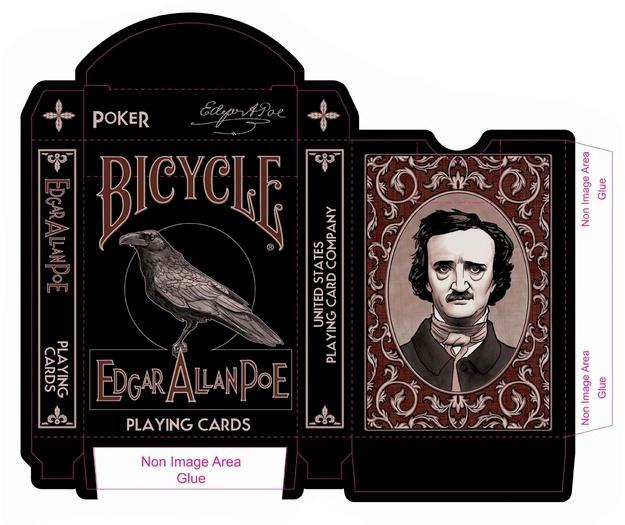 Baralho-Bicycle-Edgar-Allan-Poe-Playing-Cards-07