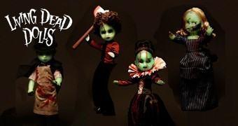 Bonecas Living Dead Doll em Versões Fosforescentes para o Halloween