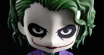 Boneco Nendoroid Joker Inspirado no Coringa de Heath Ledger (Batman: O Cavaleiro das Trevas)