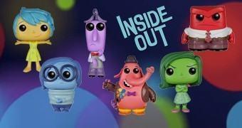 Bonecos Pop! Divertida Mente (Inside Out)