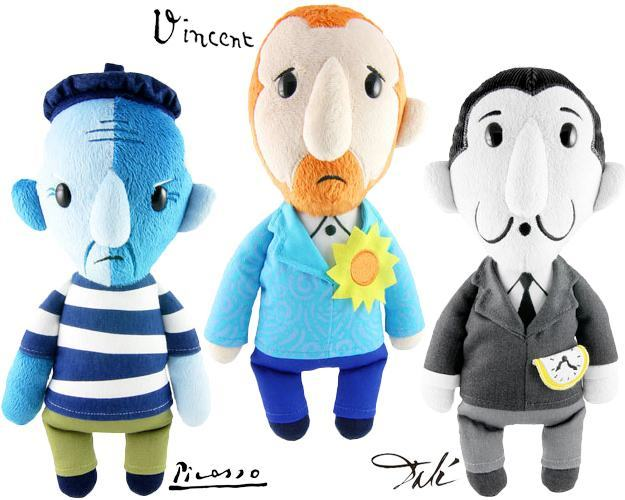 Boneocs-Pelucia-Arty-Farties-Van-Gogh-Picasso-Dali-01