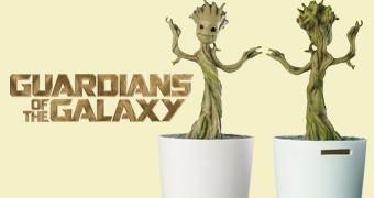 Cofre Guardiões da Galáxia: Bebê Groot Dançante