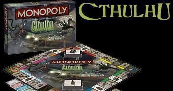 Cthulhu Monopoly, o Jogo de Tabuleiro do Devorador de Almas de H.P. Lovecraft