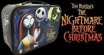 Lancheira Nightmare Before Christmas para as Guloseimas do Halloween