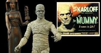 Monstros do Universal Studios: A Múmia de Boris Karloff (Action Figure Select Ver. 2)
