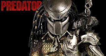 Action Figure Perfeita Neca 1:4: Predador Original com LEDs