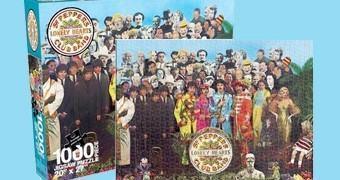 Quebra-Cabeça Beatles Sgt. Peppers Lonely Hearts Club Band com 1.000 Peças
