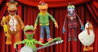 "Os Muppets Select 7"" Action Figures"