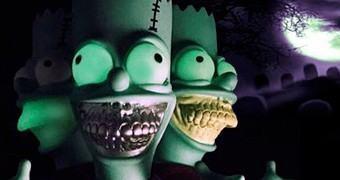 "Bart Simpson Grin Versão ""Tree House of Horror"" (Halloween)"