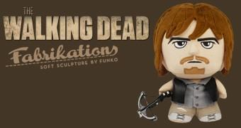 Daryl Dixon Fabrikations Soft Sculpture – The Walking Dead Boneco Funko Pelúcia/Vinil