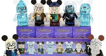 Haunted Mansion Vinylmation Mini-Figuras da Casa Mal-Assombrada da Disney