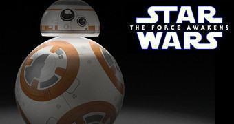 Abajur BB-8 Desktop Lamp (Star Wars: O Despertar da Força)