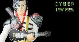 Boneco Mecha Elvis Sofubi – Medicom e CyberNewNew