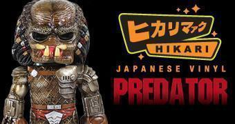 Predator Unmasked Hikari Sofubi – Boneco Funko em Estilo Japonês