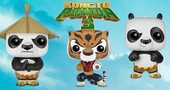 Bonecos Funko Pop! Kung Fu Panda 3