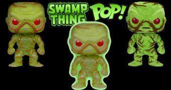 Bonecos Funko Pop! do Monstro do Pântano (Swamp Thing)