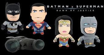 Bonecos de Pelúcia do Filme Batman Vs Super-Homem: O Despertar da Justiça
