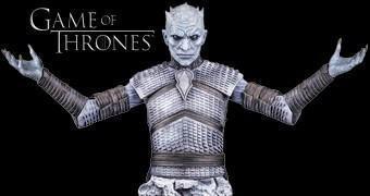 Busto Game of Thrones: Night's King (White Walker)