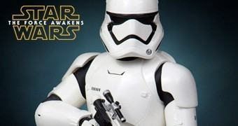 Busto Star Wars Gentle Giant: First Order Stormtrooper