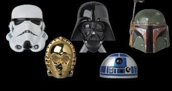 Mini Capacetes Star Wars – Medicom Blind-Box