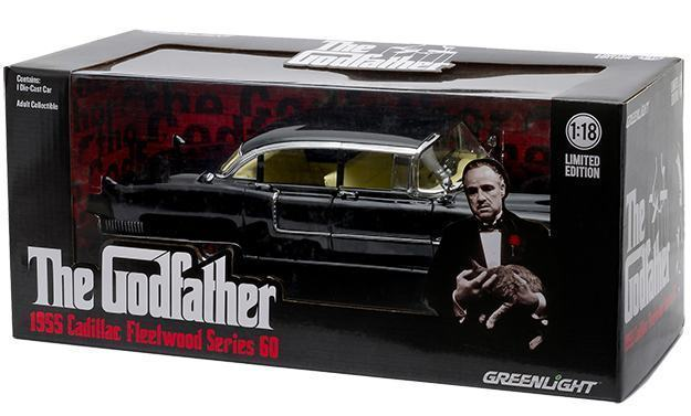 Carrinho-The-Godfather-1955-Cadillac-Fleetwood-Series-60-Die-Cast-Metal-Vehicle-03