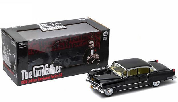 Carrinho-The-Godfather-1955-Cadillac-Fleetwood-Series-60-Die-Cast-Metal-Vehicle-04