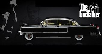The Godfather: 1955 Cadillac Fleetwood Series 60 – Carro O Poderoso Chefão 1:18