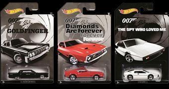 James Bond 007 Collection – Set de Carrinhos 1:64 Hot Wheels