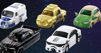 Carrinhos Die-Cast Star Wars Star Cars (Takara)