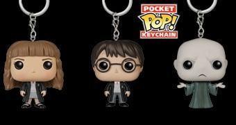 Chaveiros Harry Potter Funko Pocket Pop!