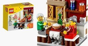 LEGO Thanksgiving Feast: Banquete de Ação de Graças