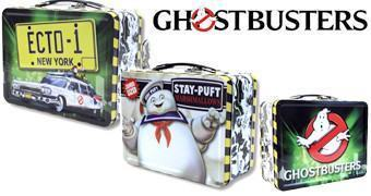 Lancheiras Ghostbusters: Ecto 1 e Stay Puft Marshmallow Man