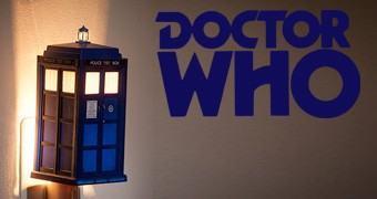 Luz Noturna Doctor Who TARDIS Night Light