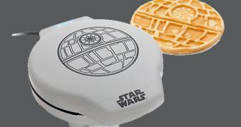 Máquina de Waffles Star Wars Death Star (Estrela da Morte)