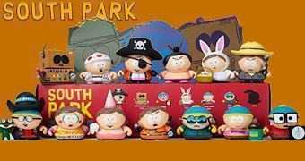 Mini-Figuras Kidrobot South Park: As Fantasias de Eric Cartman