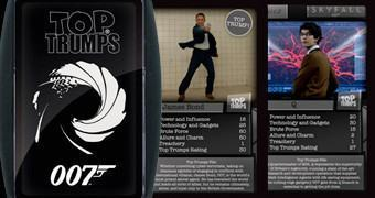 Super Trunfo James Bond 007 Top Trumps (Spectre)