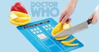 Tábua de Cortar Doctor Who TARDIS Chopping Board