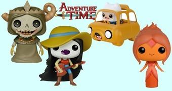 Hora de Aventura Bonecos Funko Pop! Série 3 com Carro Jake (Adventure Time)