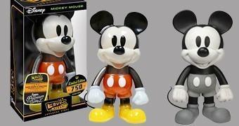 Mickey Mouse Hikari Sofubi – Bonecos Funko em Estilo Japonês