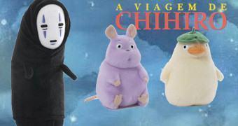 Bonecos de Pelúcia de A Viagem de Chihiro de Hayao Miyazaki