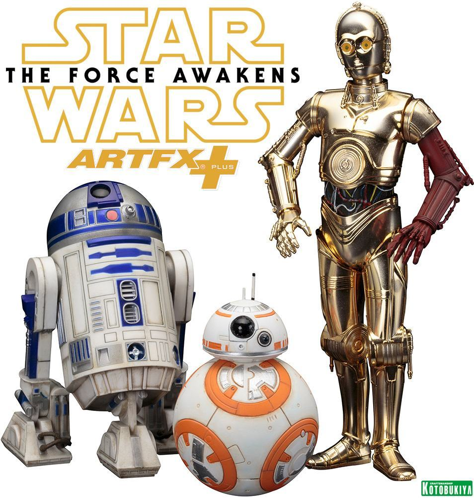 Estatuas-C-3PO-R2-D2-BB-8-ArtFX-Star-Wars-VII-01