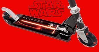 Patinete Kylo Ren Star Wars Episódio VII