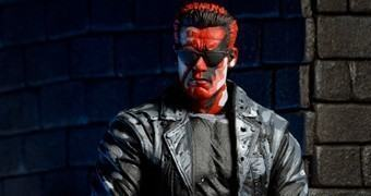 Action Figure T-800 no Game 8-bit Terminator 2: Judgment Day (1991)