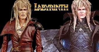 Action Figures David Bowie como Jareth, o Rei dos Duendes em Labirinto