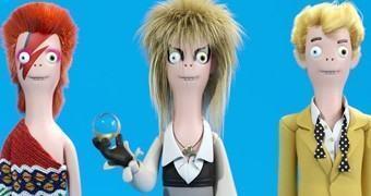Bonecos David Bowie Vinyl Idolz