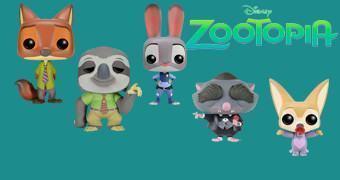 Bonecos Pop! Zootopia – Essa Cidade é o Bicho, o Novo Filme da Disney!