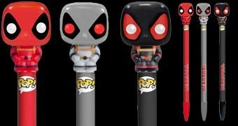 Canetas Marvel Pop! Deadpool