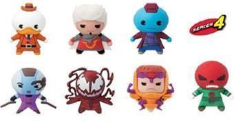 Chaveiros Marvel 3D Monogram Figural Keyrings Série 4 com Howard, o Pato e Mais!