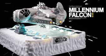 Millennium Falcon Floating Maglev – Estátua Flutuante Magnética